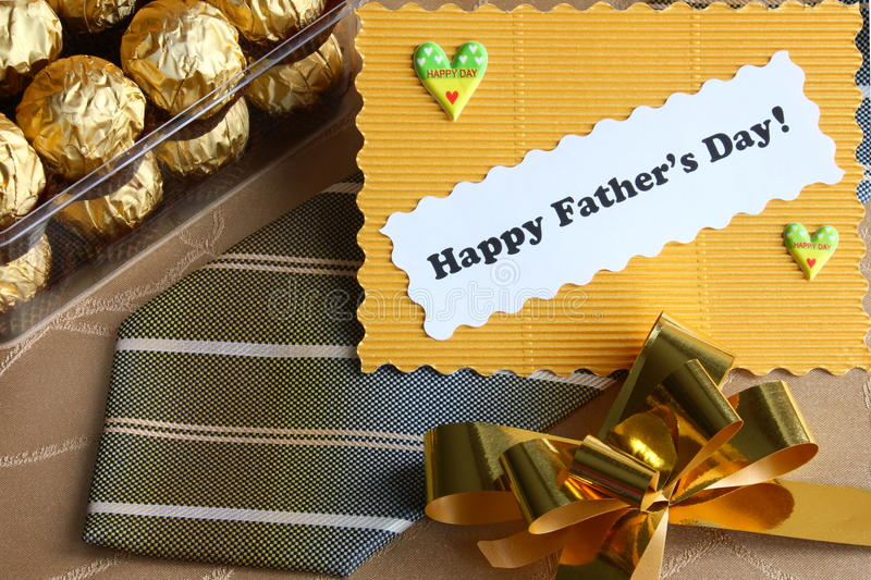 Download Fathers Day Card And Gifts - Stock Photo Stock Photo - Image: 29413196