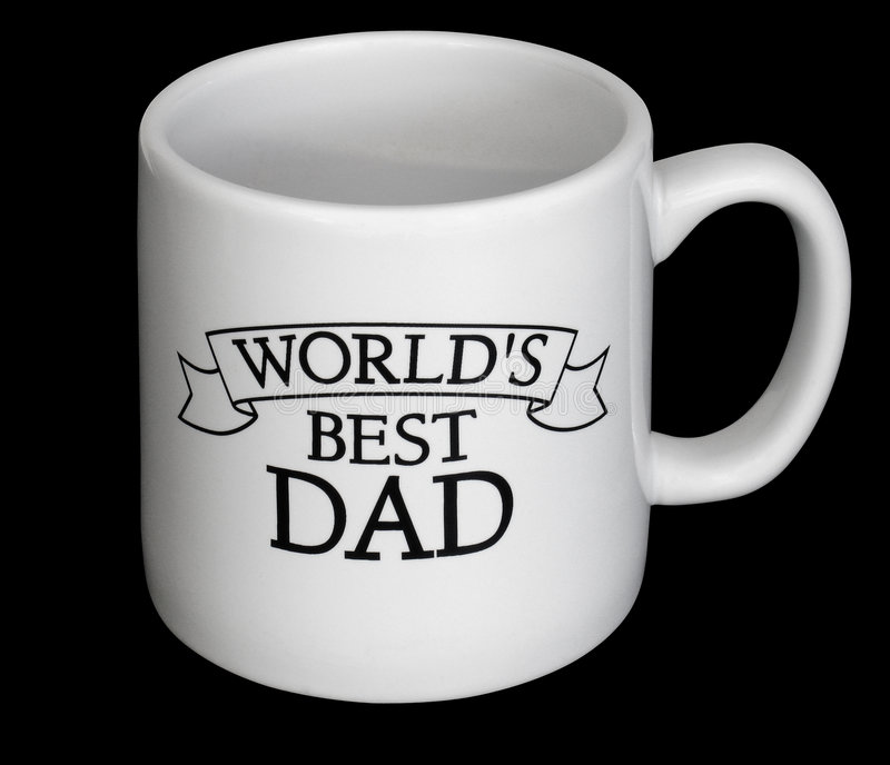 Fathers day cup. Dads day cup