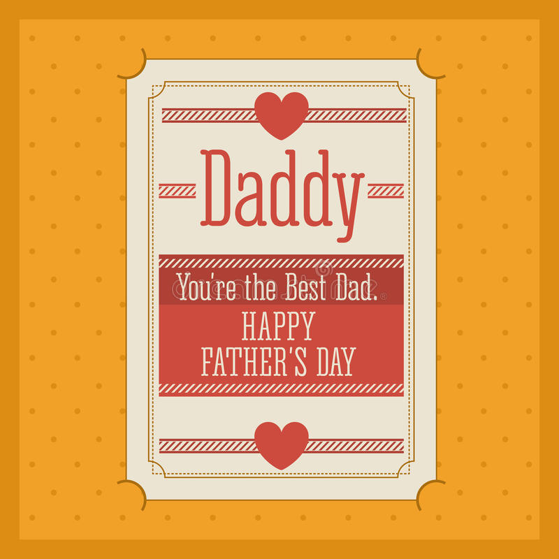 Download Fathers Day Design Stock Vector - Image: 39672562
