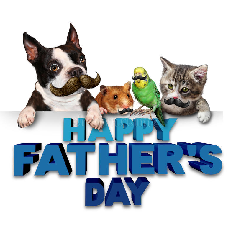 Free Fathers Day Greetings Royalty Free Stock Photo - 72881835