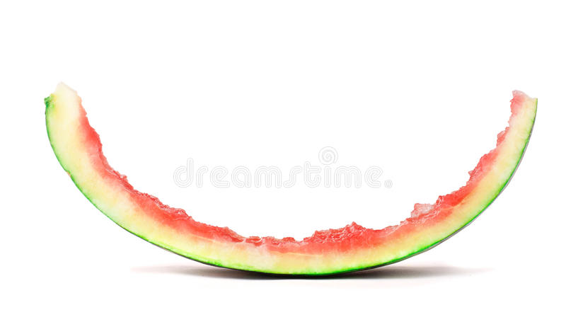 Fatia comida de melancia fotografia de stock