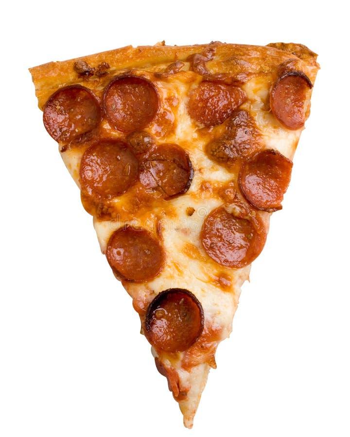Fatia da pizza de Pepperoni fotos de stock
