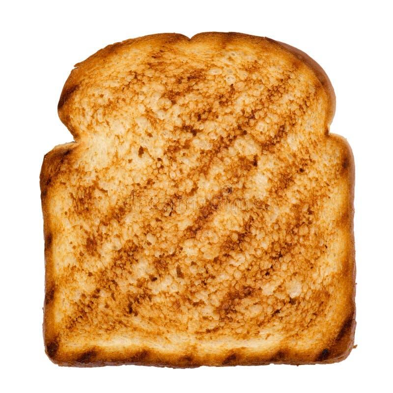 Fatia de pão grelhado foto de stock royalty free