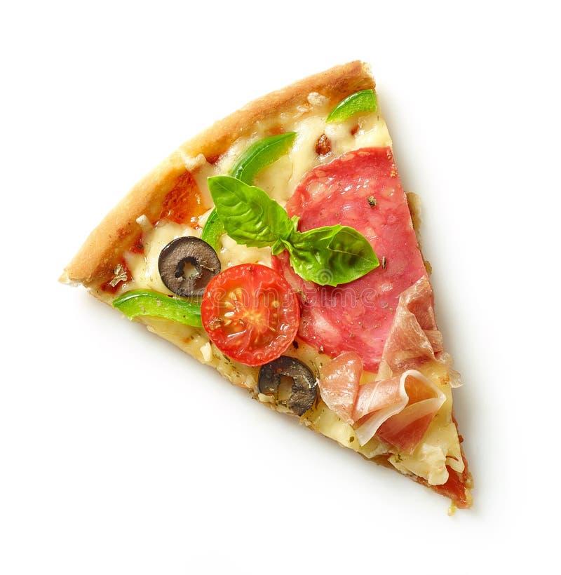 Fatia de pizza imagem de stock royalty free