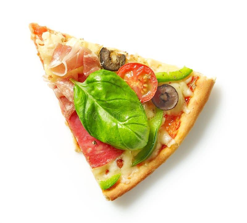 Fatia de pizza imagens de stock