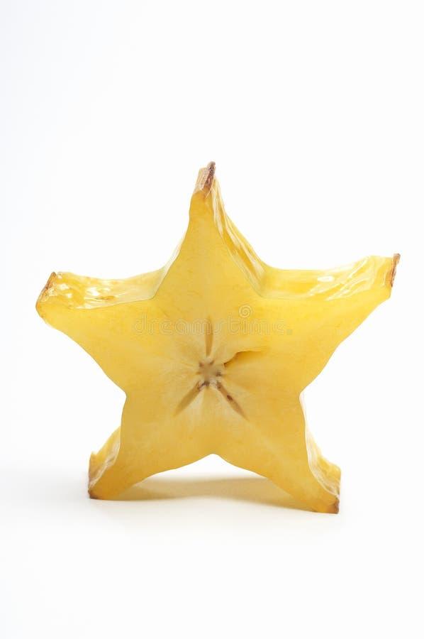 Fatia de Starfruit fotos de stock
