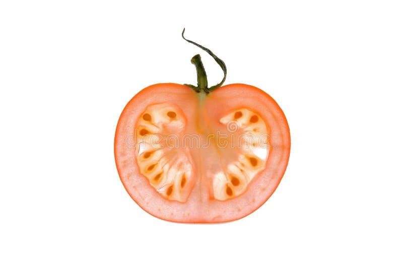 Fatia de tomatoe fotografia de stock