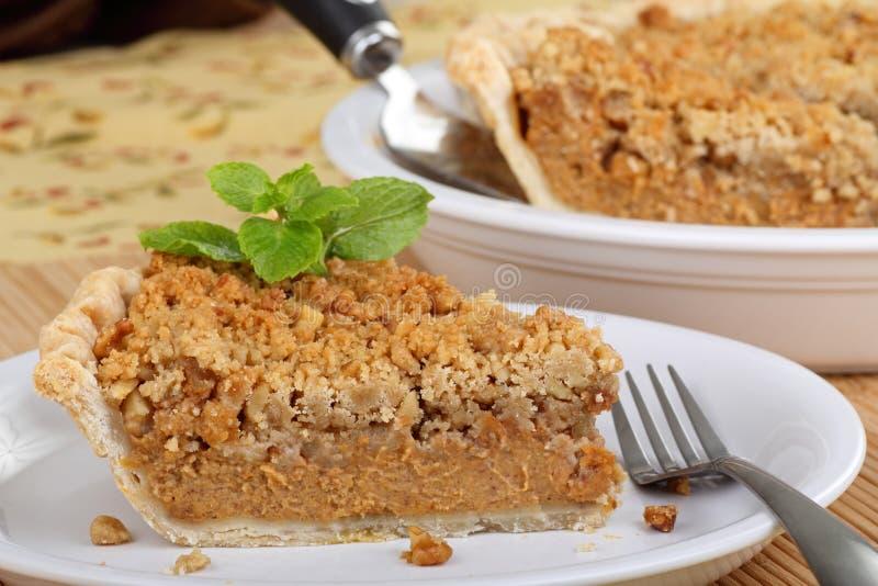 Download Fatia de torta de abóbora foto de stock. Imagem de alimento - 26524278