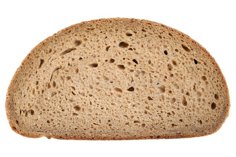 Fatia de um pão integral foto de stock