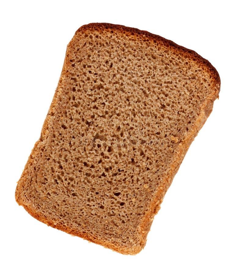 Fatia do pão de Rye foto de stock royalty free