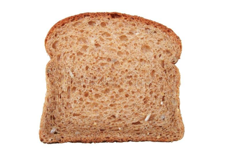 Fatia do pão de trigo inteiro fotos de stock