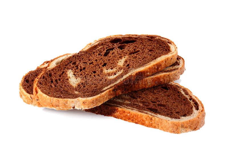 Fatia do pão Unleavened fotografia de stock royalty free
