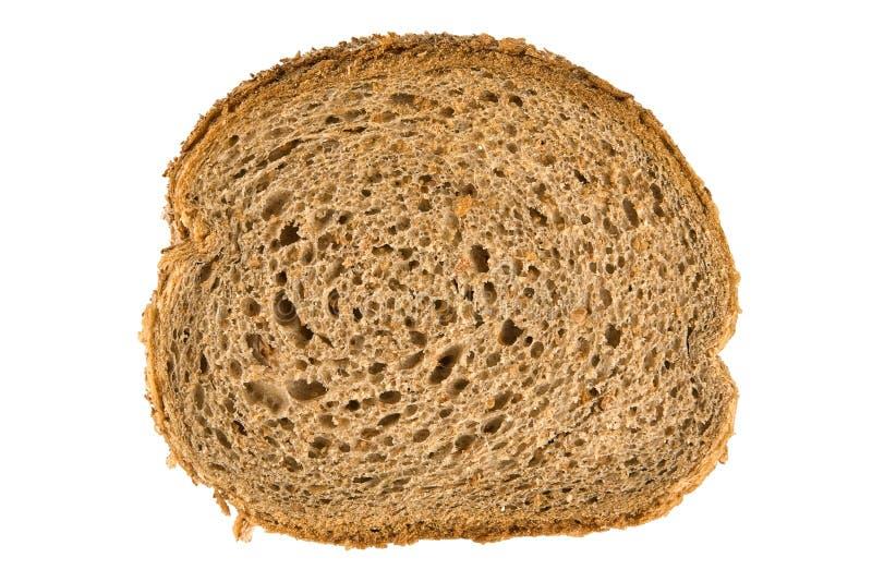 Fatia fresca do pão marrom imagens de stock royalty free