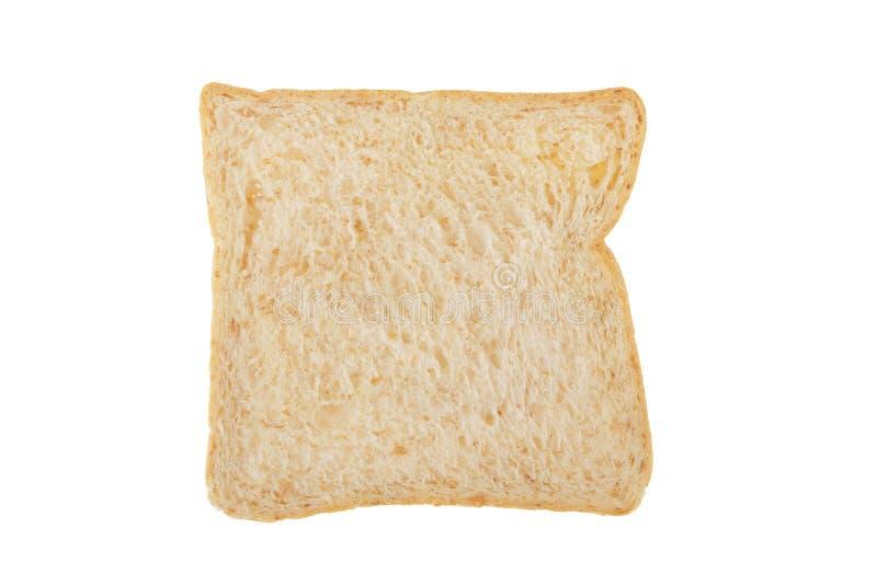 Fatia inteira branca do pão integral fotografia de stock royalty free