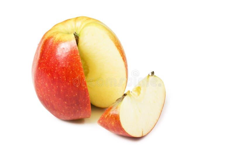 Fatias de Apple imagens de stock