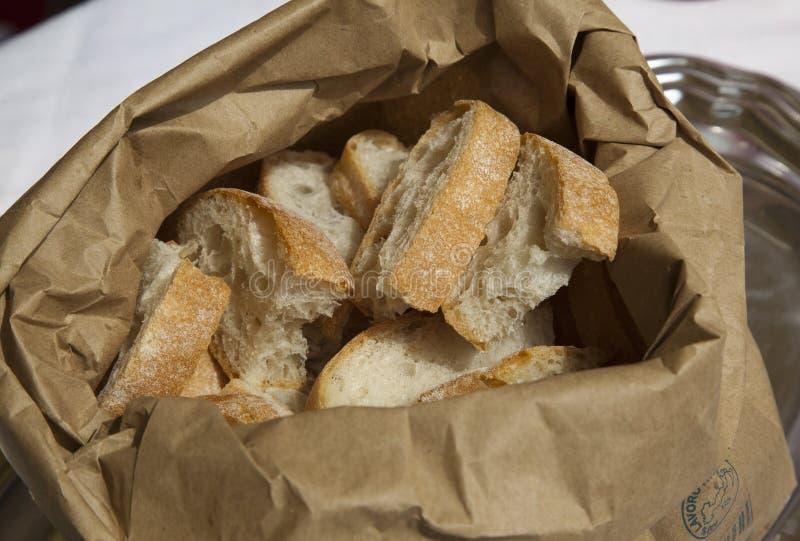 Fatias de pão imagem de stock royalty free