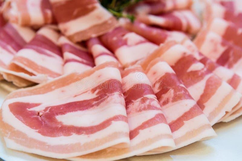 Download Bacon foto de stock. Imagem de chopping, coma, gastronomy - 29845370