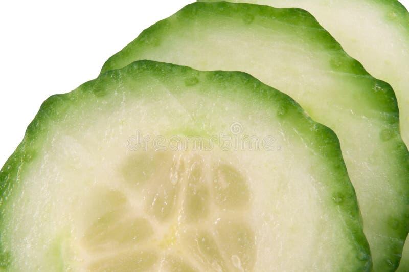 Download Fatias do pepino imagem de stock. Imagem de pepinos, verde - 12802427