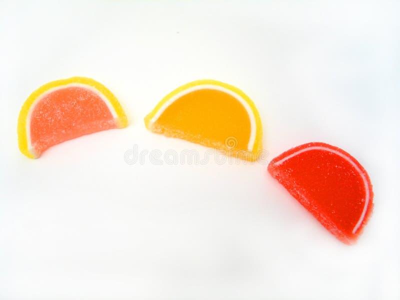 Fatias dos doces imagem de stock