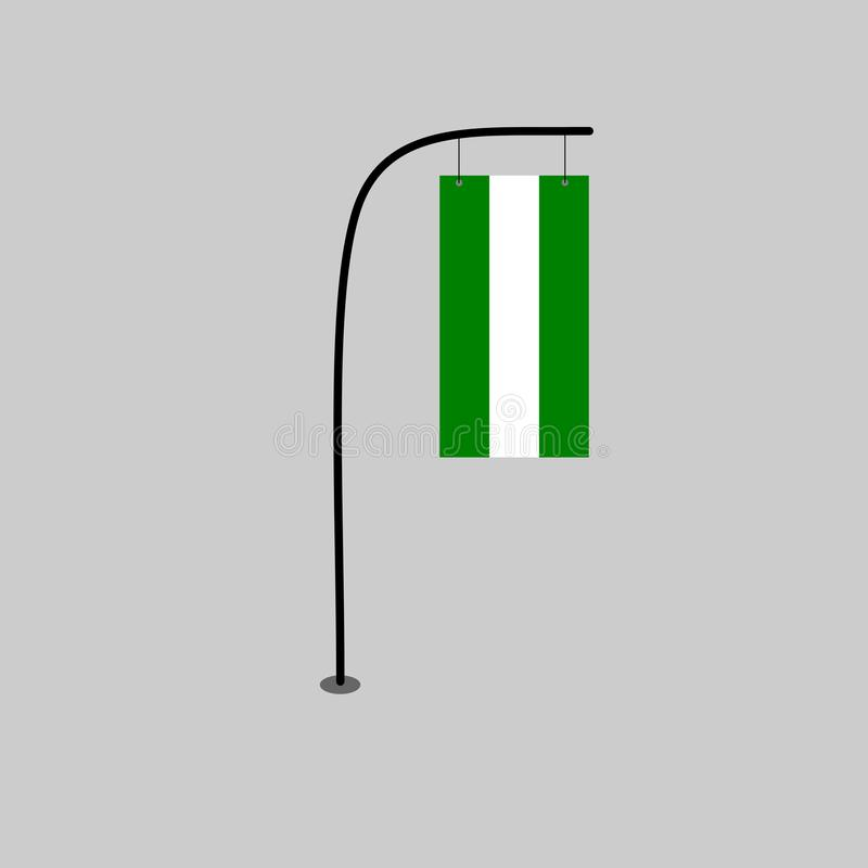 Fatica della Nigeria illustrazione vettoriale