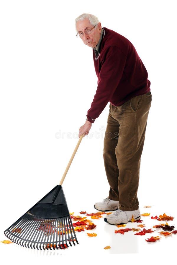 Fatigué du jardinage photos stock