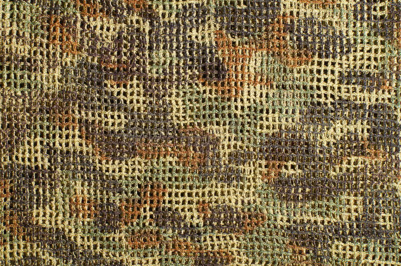 Fatigues. Closeup photo of camouflage pattern royalty free stock photo