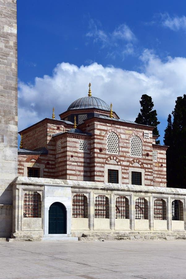 Fatih Mosques Bibliothek lizenzfreies stockfoto