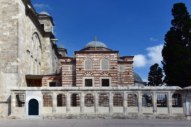 Fatih Mosques Bibliothek stockbilder
