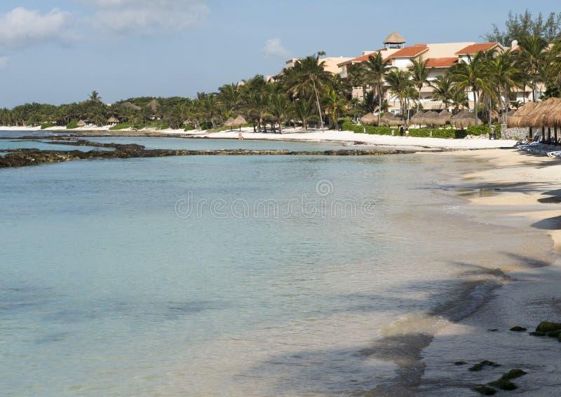 Fatima Bay, Puerto Aventuras, Mexico royalty-vrije stock afbeeldingen