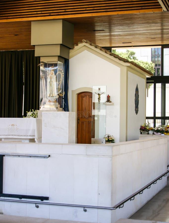 Fatima kaplica obrazy royalty free