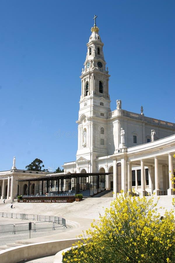 Fatima kościół zdjęcia royalty free