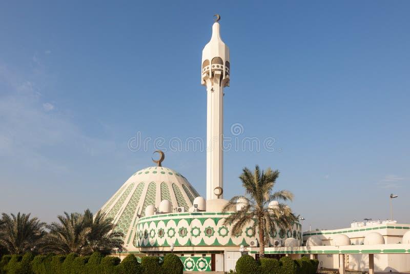 Fatima Mosque i Kuwait royaltyfri foto