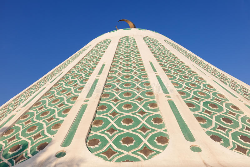 Fatima Mosque in Koeweit royalty-vrije stock foto's