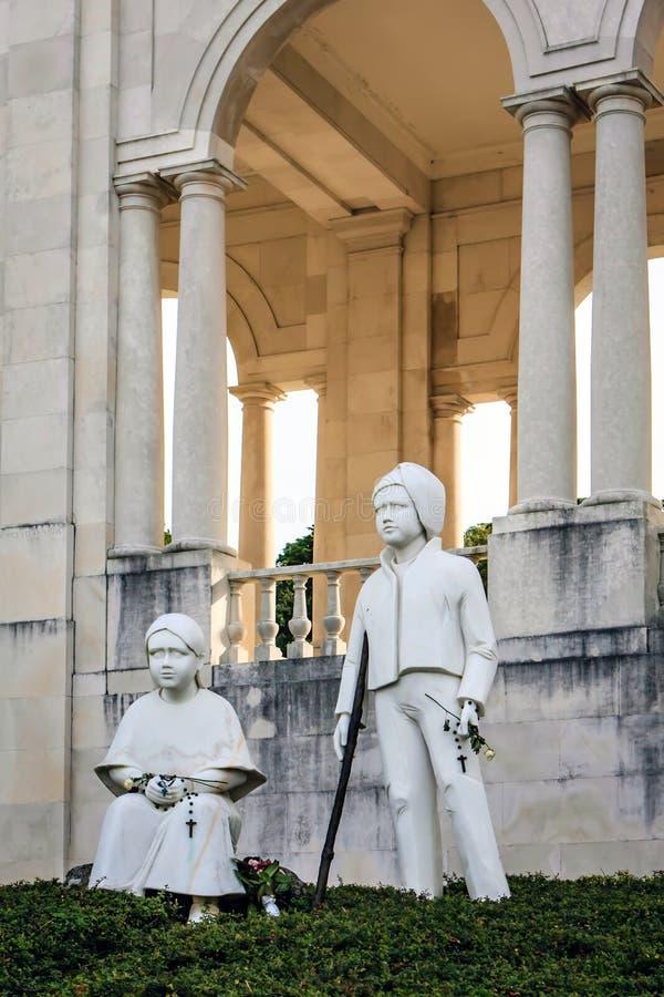 fatima portugal fristad royaltyfria bilder