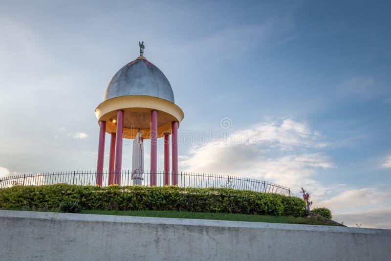 Fatima Virgin Throne Sanctuary eller Trono de Fatima - Petropolis, Rio de Janeiro, Brasilien royaltyfri foto