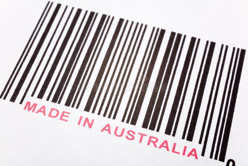 Fatto in Australia immagine stock libera da diritti