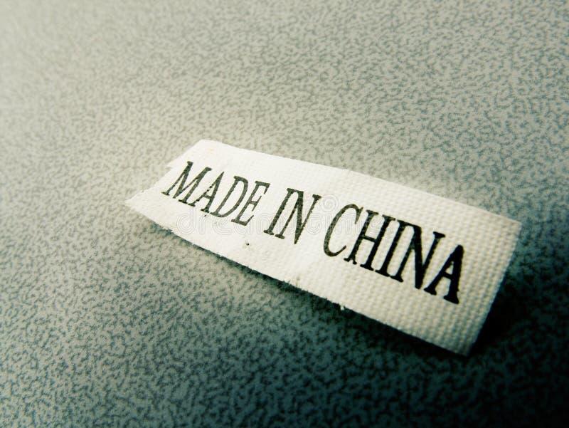 Fatto in Cina fotografie stock