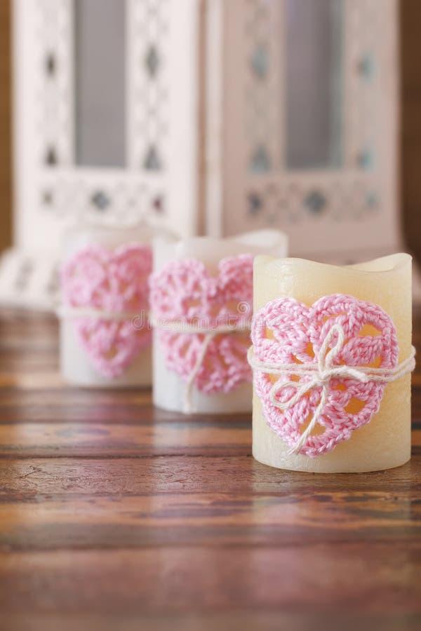 Fatto a mano lavori all 39 uncinetto il cuore rosa per tre for Lavori all uncinetto per altari