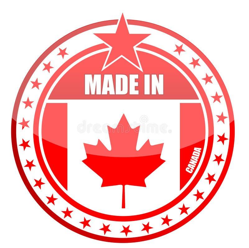 Fatto nel Canada royalty illustrazione gratis