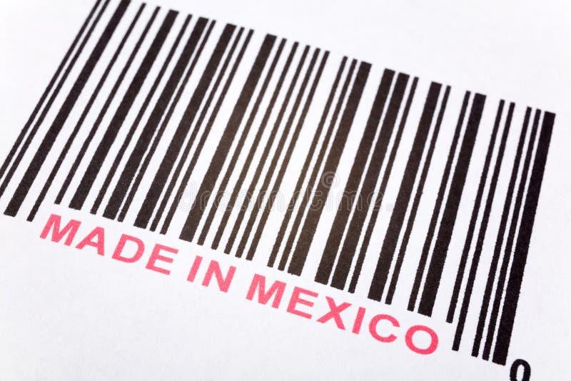 Fatto nel Messico immagine stock