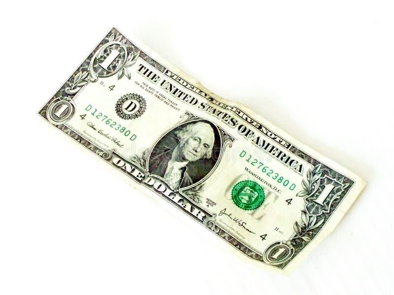 Fattura del dollaro immagini stock libere da diritti