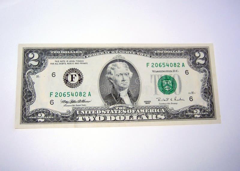 Fattura del dollaro due