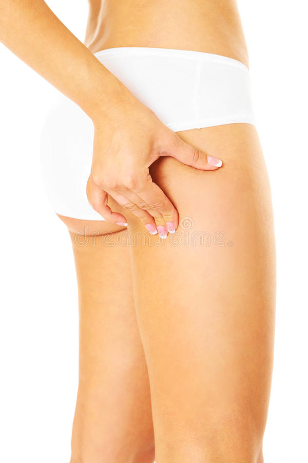 Download Fatty thigh? stock photo. Image of treatment, natural - 32071210