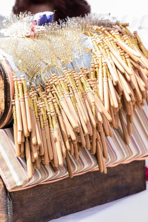 Fatura de laço da bobina do close-up DOF raso fotos de stock royalty free