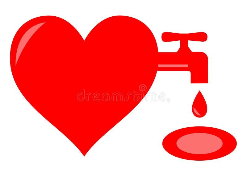 Faucet крови стоковая фотография