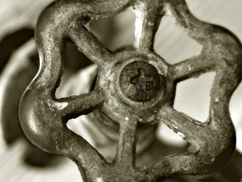 faucet старый стоковое фото