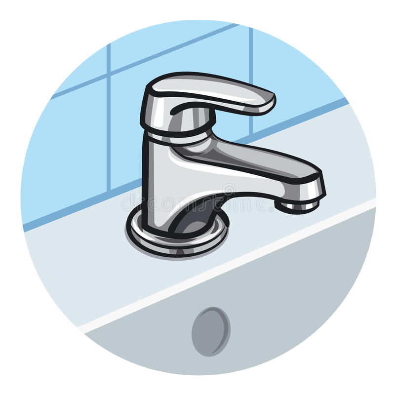 faucet royalty ilustracja