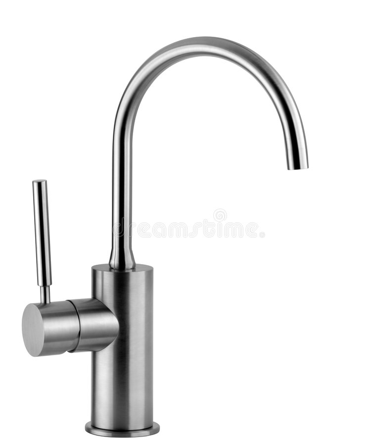 Faucet stock image