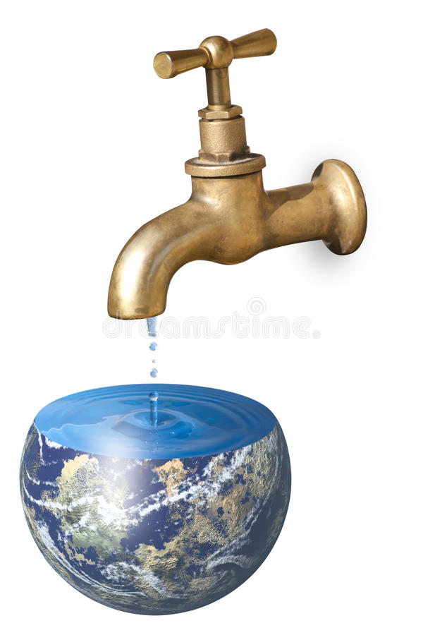Download A faucet dripping stock image. Image of biological, abuse - 22635969