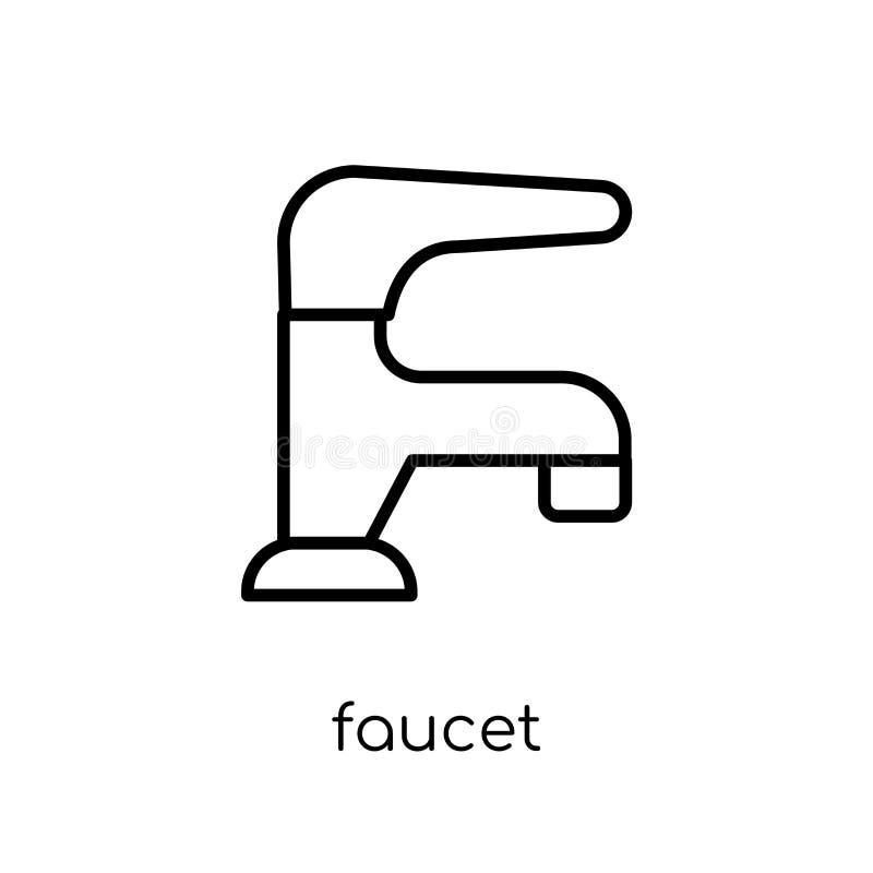 Faucet ikona  ilustracja wektor